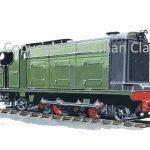 320 Cia De saltres Y Ferrocarril De Junin Hudswell Clarke 2-6-2 diesel Locomotive 'Junin