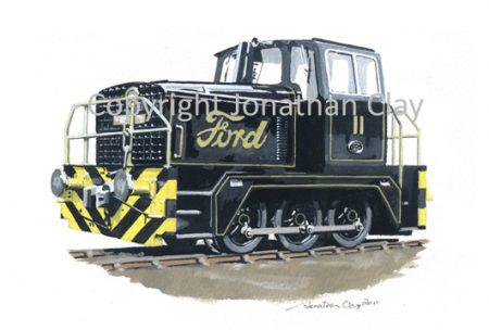320A Fords of Dagenham Hudswell Clarke 0-6-0DH Locomotive No.11