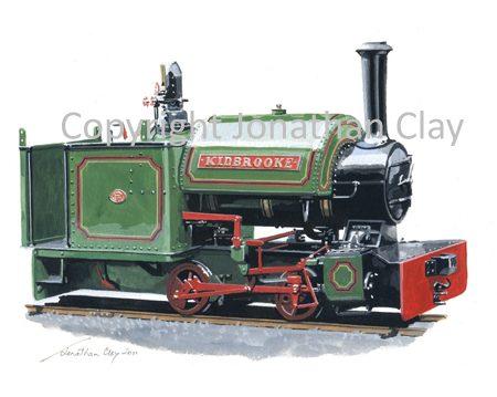 333 Yaxham Light Railway Bagnall 0-4-0ST Kidbrooke