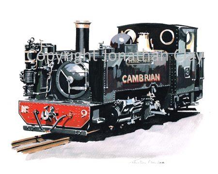 349A Vale of Rheidol Rly No.9 Prince of Wales (Cambrian Railways Black)