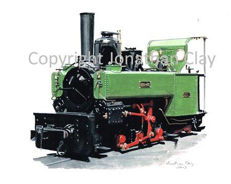 358 Minas de Aller L. Corpet 0-6-0T No.2 (Statfold Barn Railway)