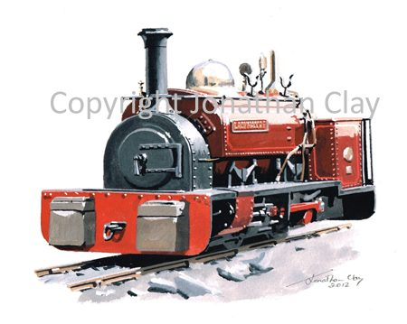 363 Dinorwic Quarries 0-4-0ST Lady Madcap  (Red)