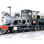 364 Sandstone Estates ex. Beira Railway  Lawley 4-4-0 No.97