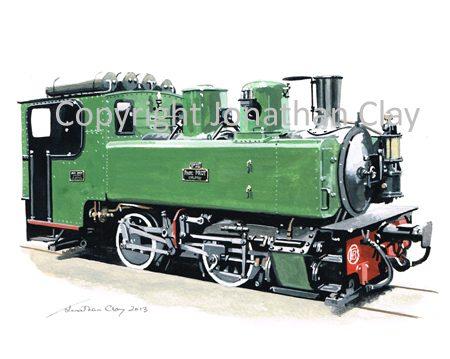 372 CFBS Corpet-Louvet 0-4-0T No.25