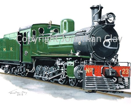373 Nyasaland Railways North British 4-8-0 No.23
