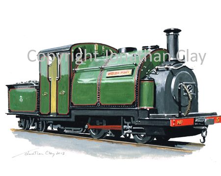 375 George England 0-4-0ST+T No.5 Welsh Pony 2013