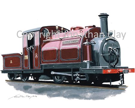 381 George England 0-4-0ST+T No.6 'Little Giant