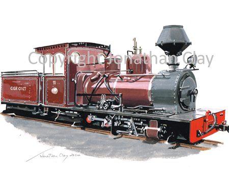 386 Huswell Clarke 0-6-0 CSR No 11 (Statfold Barn Railway)