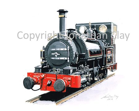 392 FletcherJennings 0-4-2ST No.1 Talyllyn (Black)