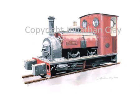 393 Dinorwic Quarries Hunslet 0-4-0ST 'Michael'