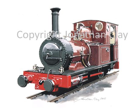 400 Fletcher Jennings 0-4-0T No.2 Dolgoch (2015)
