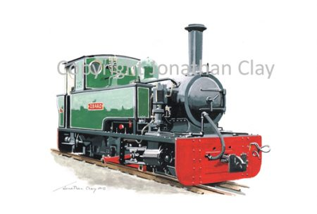402 Lynton and Branstaple Railway Bagnall 0-4-2T Isaac