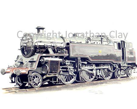 537 BR Standard Class 4 2-6-4T No.80136