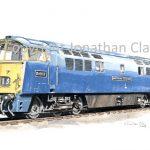 543 Class 52 Diesel No.  D1013 Western Ranger
