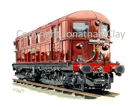 548A Metropolitan Railway Bo-Bo Electric  no.15 Benjamin Disraeli