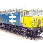 553 Class 56 Diesel No.  56102