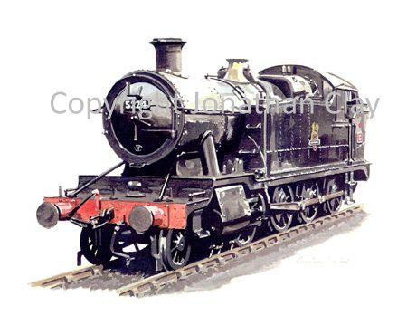 562 GWR 52XX 2-8-0T No.5224 (BR Black)