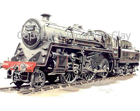 570 BR Standard Class 4 2-6-0 76079