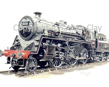 570A BR Standard Class 4 2-6-0 76114