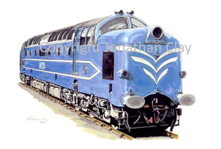 580 English Electric Deltic Prototype DP1