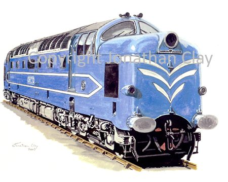 580 English Electric Deltic Prototype DP1