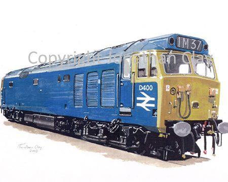 581 Class 50 No.  D400