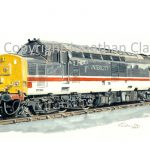 598 Class 37 Diesel No.  37510