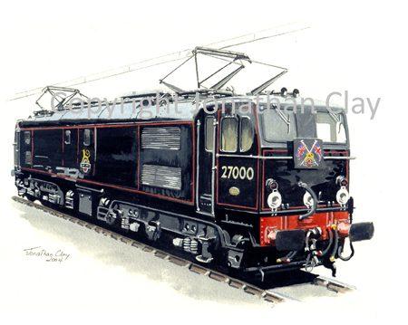 621 EM2 Electric No. 27000 'Electra'
