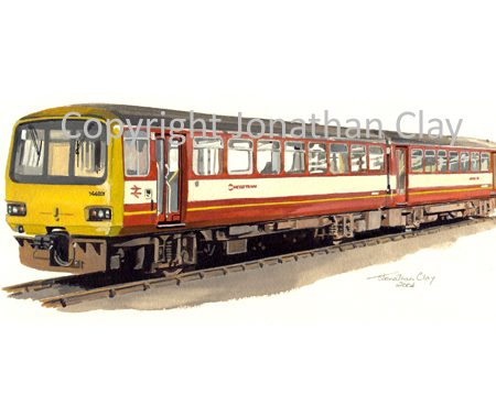 625 Metro Trains Class 144 unit