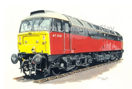 631 Class 47 Diesel No.  47559