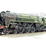 635 BR Standard 4-6-2 No.70018 Flying Dutchman