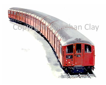 642 Tube Train 1938 Stock