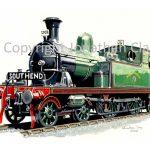658 LTSR Class 1 4-4-2T No.36 Walthamstow