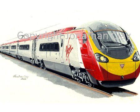 673 Virgin Pendolino Class 390