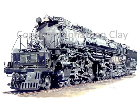 675 Union Pacific Big Boy 4-8-8-4 No.4023
