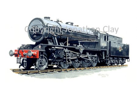 691 WD Class 2-8-0 No.90733