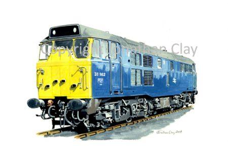 707 Class 31 Diesel No. 31162