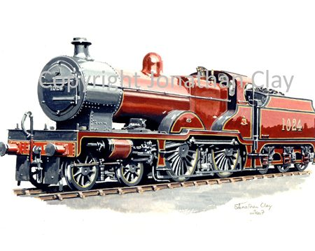 708 Ex Midland Railway Compound 4-4-0 No.1043
