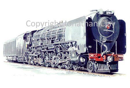 717 SAR Class 25 Condensing locomotive No.3480