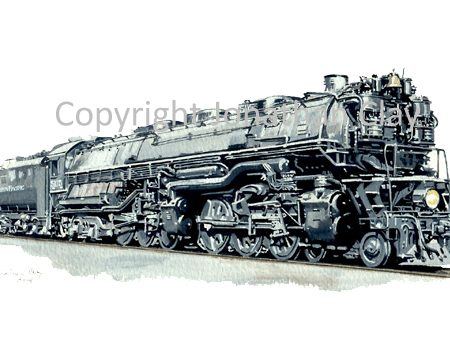 722 Northern Pacific Class Z6 4-6-6-4 No.5115