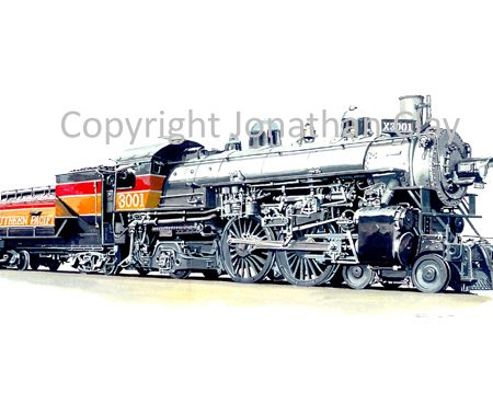 732 Southern Pacific Class A-6 4-4-2