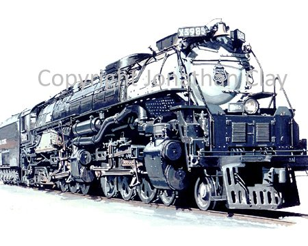 733 Union Pacific Challenger 4-6-6-4 No.3895