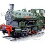 749 Hawthorn Leslie Falmouth Docks  0-4-0ST