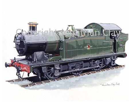 751 GWR 56XX Class 0-6-2T No.5643 (BR Green)