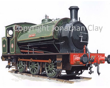 752 Hunslet 16 inch 0-6-0ST Beatrice