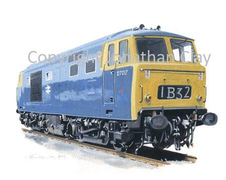 757 Class 35 'Hymek No.  D7017