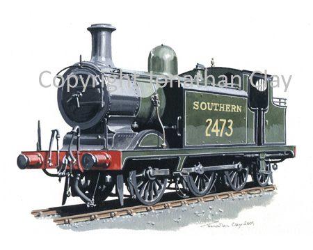 761 Ex. LBSCR Class E4 0-6-2T No.2473