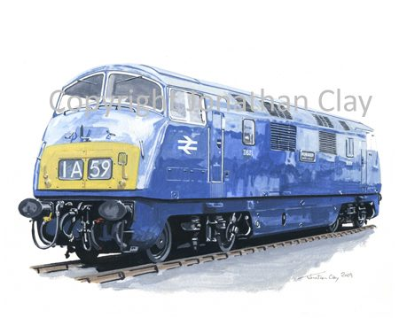 768 Class 42 Diesel Warship No.  D831 Monarch