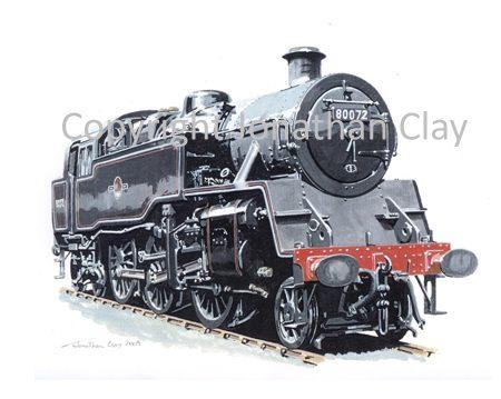 780 BR Standard Class 4 2-6-4T No.80072