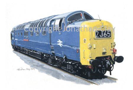 781 Class 55 Diesel Deltic  No. 55022
